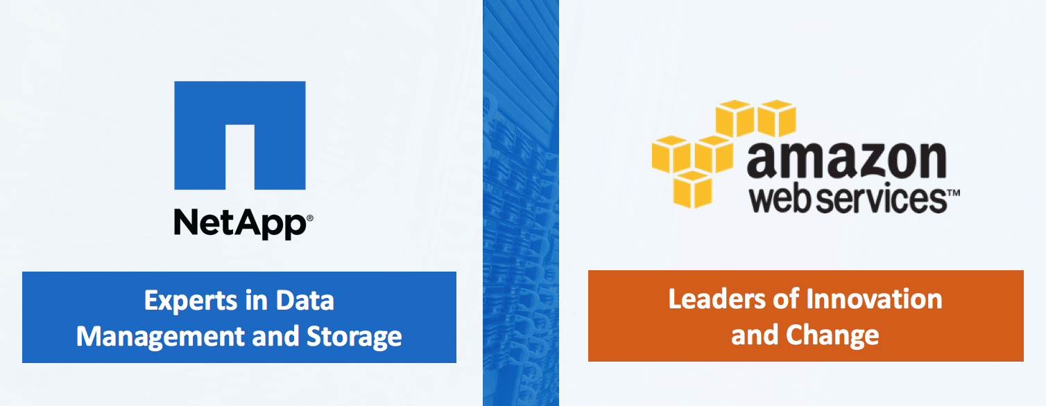 Reducing Business Continuity Costs with NetApp & AWS